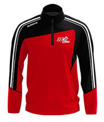 JVC Cuijk half zip sweater incl. club logo